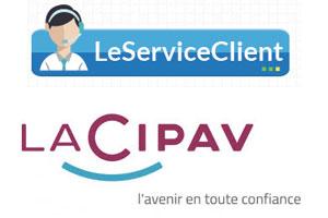 Contact service client La Cipav