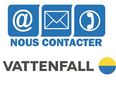 Contact service client Vattenfall