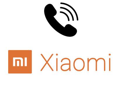 Contact service client Xiaomi