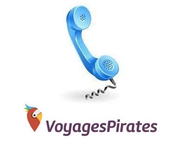 Joindre Voyages Pirates par téléphone