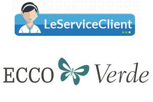 Contact service client Ecco Verde