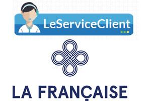 Contacter le service client La Française