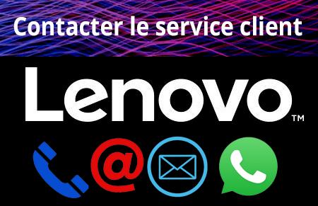 Contacter le service client lenovo
