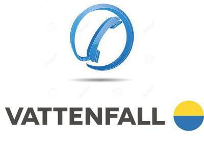 Contacter Vattenfall par telephone