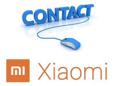 Contacter Xiaomi