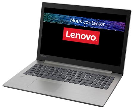 Envoyer un email à Lenovo