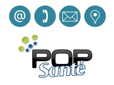 Contact service client Pop Santé