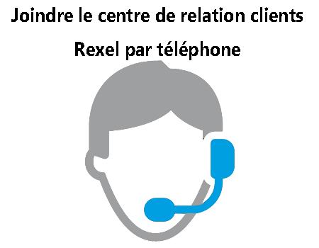 Contacter le centre de relation à la clientèle Rexel
