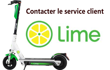 Lime trottinette contact