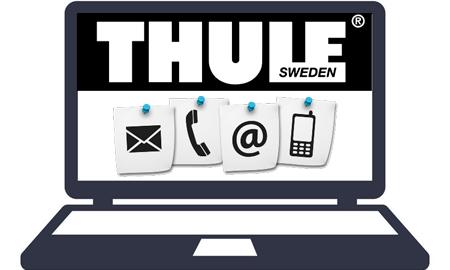 Contacter le SAV Thule par Internet