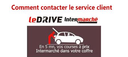 Le service client Drive Inermaché