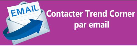 Contacter par email le service client Trend Corner