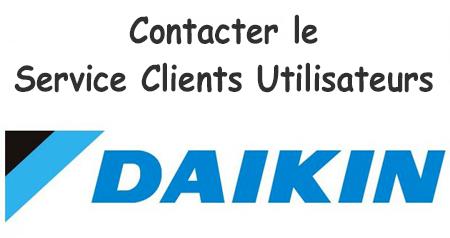 Daikin service client contact