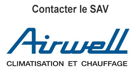 Airwell sav - contact par téléphone, email et courrier postal