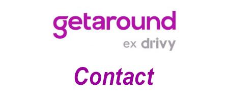 Getaround ex-Drivy contact (téléphone, mail et adresse)