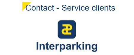Comment contacter le service client Interparking France?