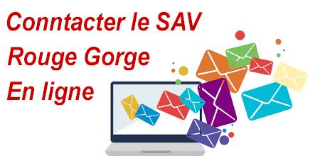 Contacter le SAV Rouge Gorge en ligne