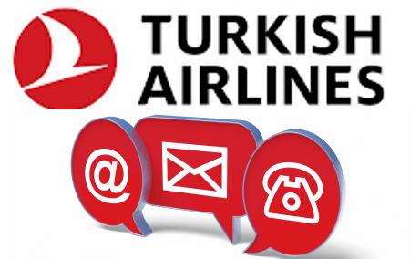 Comment entrer en contact avec le service client Turkish Ailines par téléphone, mail et adresse?