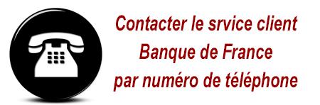 Accueil Banque de France par téléphone