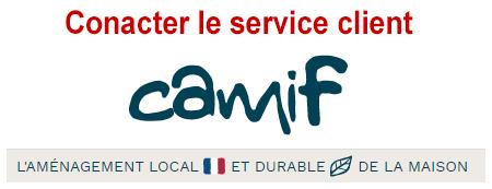 Contacter le service client Camif par téléphone et adresses, mail et adresse postale.