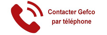 Contacter Gefco par téléphone