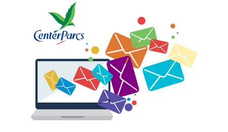 Contacter le service client Center Parcs par email.