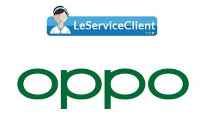 Comment entrer en contact avec le service client Oppo?