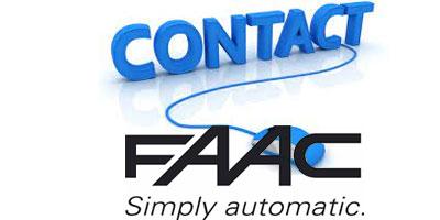 Contact service client Faac