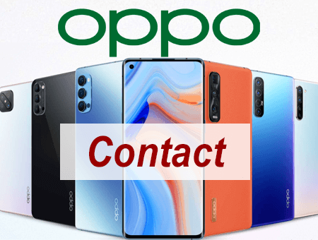 Service client Oppo contact