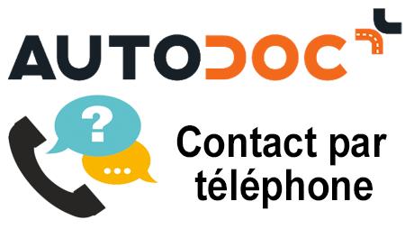 Joindre Autodoc par téléphone