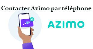 Contacter Azimo par téléphone