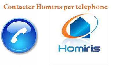 Contacter Homiris par téléphone