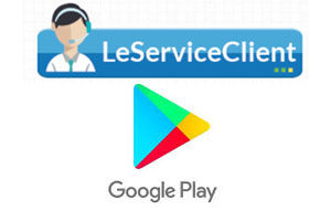 Contact service client Google Play