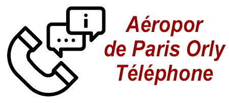 Joindre l'Aéroport d'Orly par téléphone.