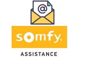Contact Somfy par email