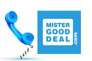 Contacter Mistergooddeal par téléphone