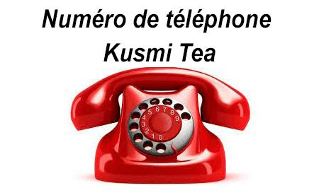 Contacter Kusmi Tea par téléphone