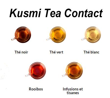 Contact service client Kusmi Tea