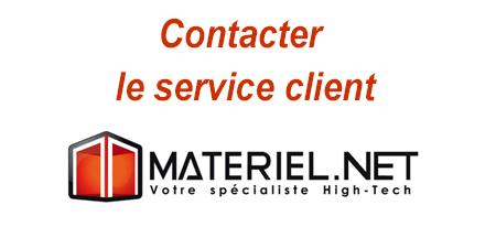 Materiel.net contact : Service client - SAV et assistance technique