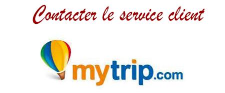 Comment contacter le service client Mytrip ?