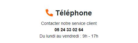 Cteasy contact par téléphone