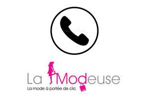 Contacter La Modeuse par téléphone