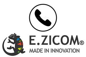 Contacter E.Zicom par téléphone