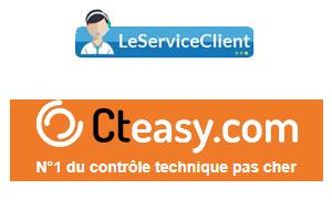 Contacter Cteasy service client.