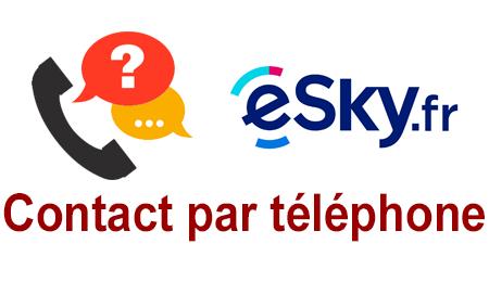 esky, contact et assistance par téléphone.