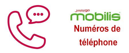 Numéros de téléphone du service client Mobilis.