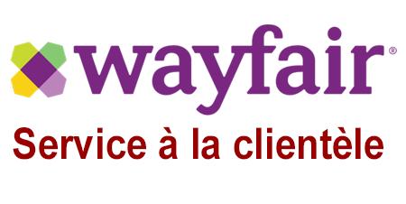 Wayfair service à la clientèle