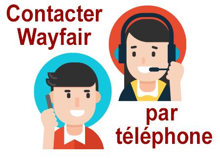 Joindre le service client Wayfair par téléphone