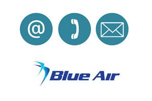 Contacter Blue Air