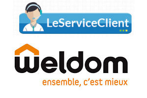 Contact service client Weldom
